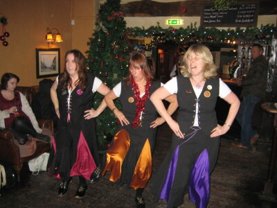 Clog Dancing in the Pub