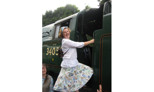 A Day out on the Severn Valley Railway