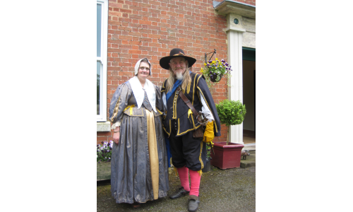 The 17th Century comes to Broome Park Farm